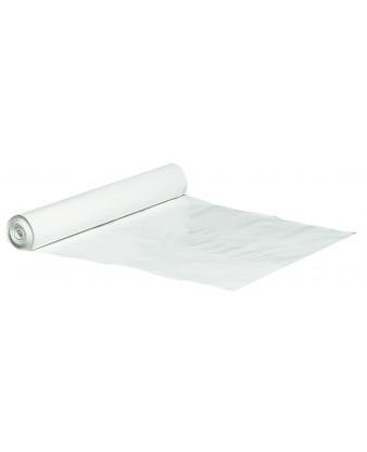 Plastsæk Hvid 70x110 cm 60 my 100 liter, 10 ruller