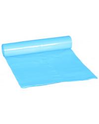 Plastsæk Blå 100my 120 liter, 10 ruller