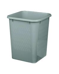 Papirkurv, Bantex, grå, 14 liter