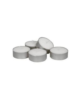 Fyrfadslys 100% paraffin hvid