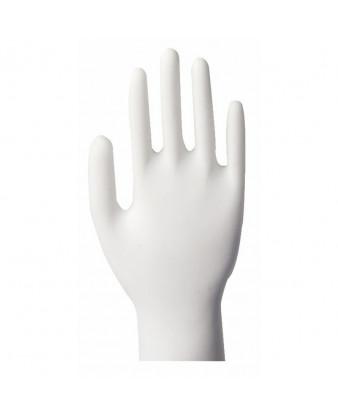Latexhandske Large Hvid pudderfri