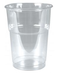 Plastglas hård, 40 cl.