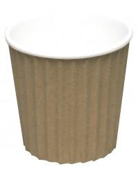 Kaffebæger Ripple Wall, Brun, 10 cl.