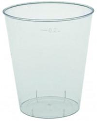 Plastglas hård, 20 cl.
