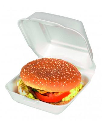 Burgerbakke, 150x150x172 mm. skum