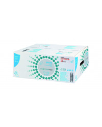 Håndklædeark V-fold  2-lag hvid