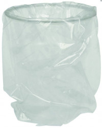 Plastglas, enkelt indpakkede
