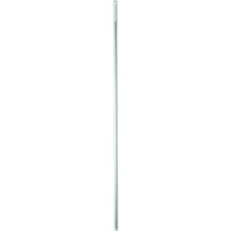 Aluminiumsskaft, 150 cm  Grå m. Gevind