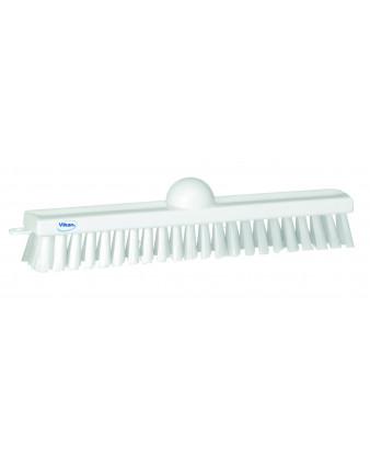 Gulvskrubbe Væg/gulvvaskebørste, 47cm, hvid