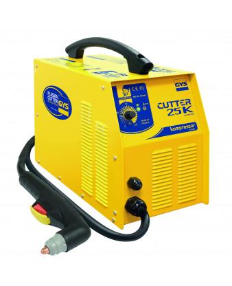 GYS CUT25 med kompressor