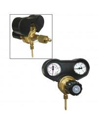 Gas Manometer med dobbelt ventil til 30 liter