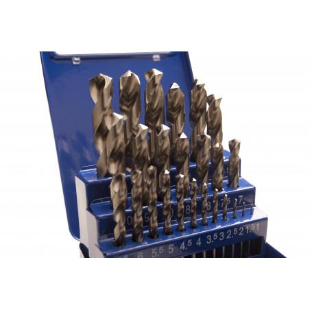 Borkasette-Slebne metalbor 1-13 mm